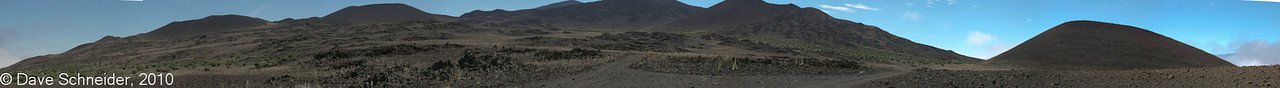 Up on the flanks of Mauna Kea.