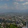 Santiago, Chile, as seen from Cerro San Cristobal