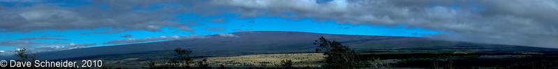 A view of Mauna Loa.