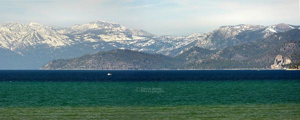 Lake Tahoe and Cave Rock