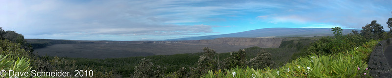 Kilauea Caldera in the morning