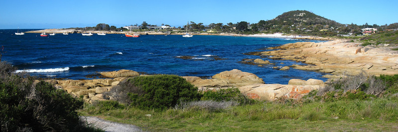 Bicheno Harbor, Tasmania, Australia