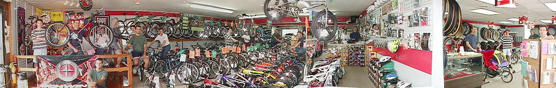 A Long Time Ago in a Town Not Far Away - Panorama of Naperville Cycling & Fitness