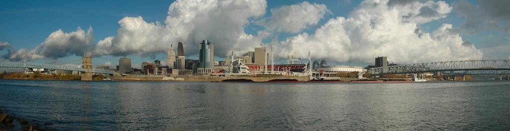 Cincinnati skyline - November, 2005