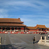 Golden Water River in the plaza between the Meridian Gate and the Gate of Supreme Harmony, in the Forbidden City, Beijing, China