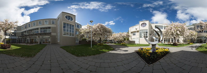 Owheo Building Courtyard, University of Otago