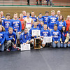 Don Knight / The Herald Bulletin<br /> Elwood won the Madison County Wrestling Tournament at Anderson on Saturday.