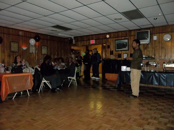 Papa Smurf 74th Birthday Party 2012