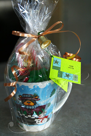 """Glass Mug and Goodies"" Party Favor"