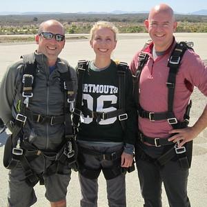 Parachute Season Begins: Dartmouth Skydiving 09/06/15
