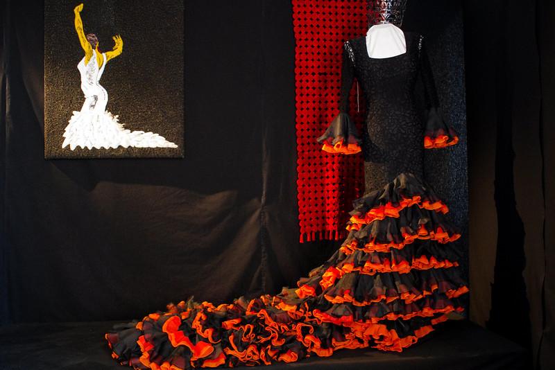 Superbe robe de Flamenco