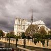 Notre Dame--note has the weather has changed.