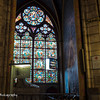 Who knew the stained glass windows could open?!