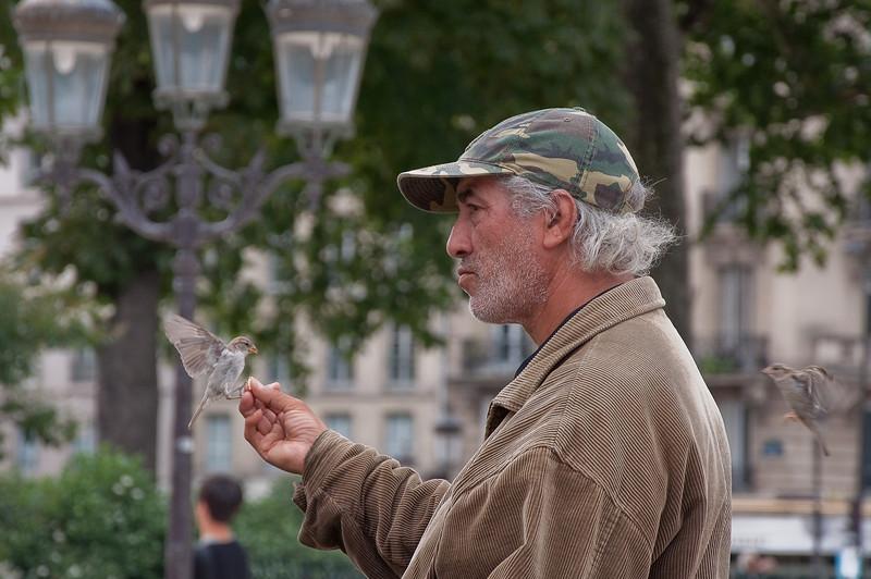 Birdman of Notre Dame