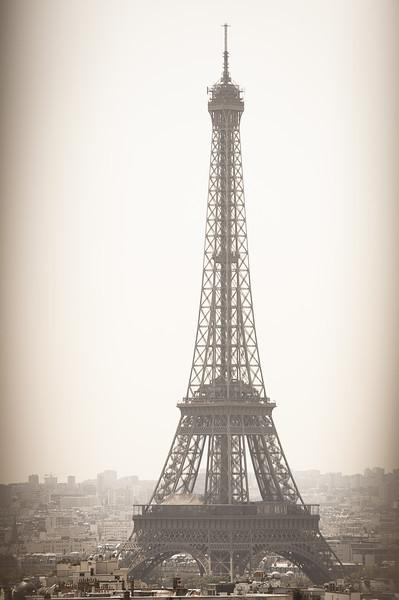 Eiffel Lens flare