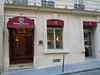 Our hotel on Rue de l'Arc de Triomphe, Best Western Star Champs-Elysees