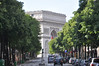 One of many views of the Arc de Triomphe on the Champs Ellysse. Very close to our hotel.