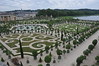 The beautiful gardens of Versailles.