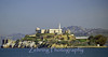 """The Rock"" Alcatraz Island, San Francisco Bay, California."