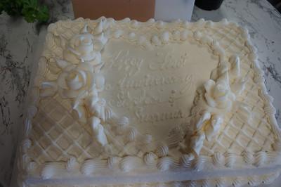 Stephen & Suzanne first wedding anniversary