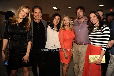 Lauren Carrozzi, Mark Seidenfeld Eunyoung Song, Julie Pinkosh, Jeff Muhs, Beth McNeill-Muhs   photo by Rob Rich/SocietyAllure.com © 2015 robwayne1@aol.com 516-676-3939
