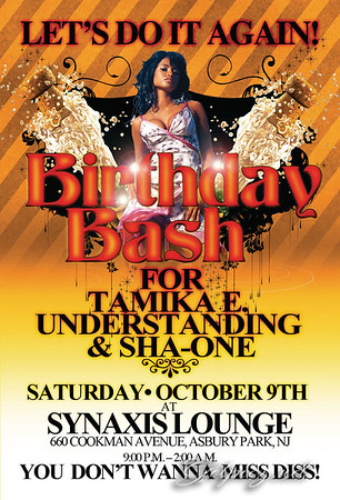 LETS DO IT AGAIN BIRTHDAY BASH AT SYNAXIS OCT 9 2010