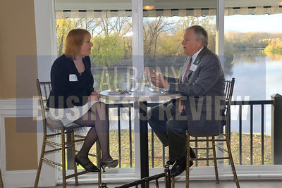 10-25-2013, Partners in Philanthropy, panelists Robert Altman, WMHT-TV; Karen Bilowith, The Community Foundation for the Capital Region; Mona Golub, Price Chopper