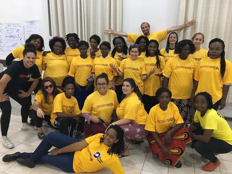 March 2018: SKILLZ Girl ToC Graduation for PC/Zambia