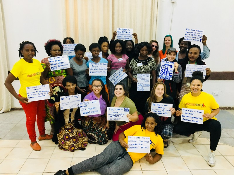March 8, 2018: International Women's Day Celebration at SKILLZ Girl ToC for PC/Zambia