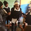 PCV Lesotho Ted runs a PC SKILLZ intervention with his counterpart Ntahli.