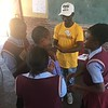 PC South Africa Volunteer implements PC SKILLZ in her community. Limpopo. November 2018.
