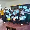 PC Tanzania Volunteer Brandi implementing PC SKILLZ in her community. March 2019.