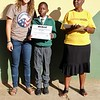 South Africa PCV Grace and her counterpart Sindisiwe complete a PC SKILLZ curriculum in KZN, South Africa.