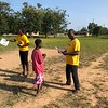 PC Ghana Volunteer Claire implements a SKILLZ Malaria intervention in her community. August 2018