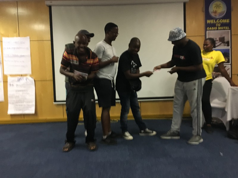 March 2018: PC/Botswana SKILLZ Guyz and Girl ToC in Gaborone