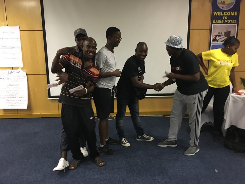 March 2018: PC/Botswana SKILLZ Guyz and Girl ToC in Gaborone