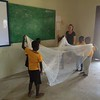 PC Ghana Volunteer Zakiya implements PC SKILLZ Malaria in her community.