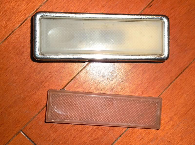 '80-'82 X1/9 interior targa bar light.