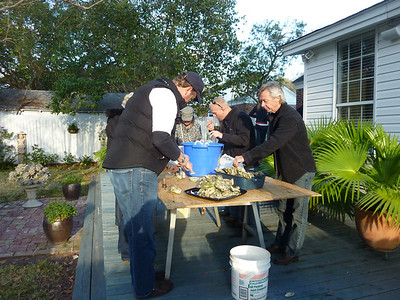 Oyster Roast Catering by Greg and Jim