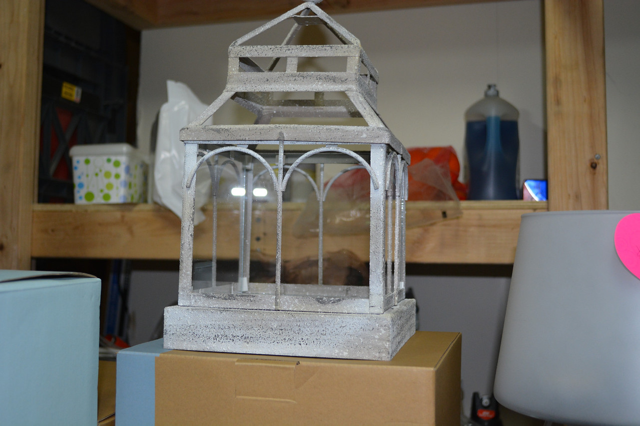 Garden Sanctuary Candle Terrarium $40 (Retails $75)