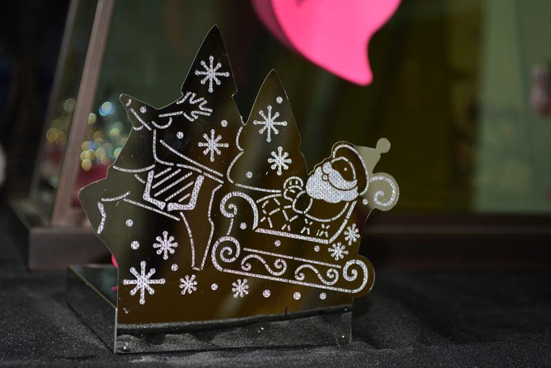 Santa Tealight Holder $10 RETIRED