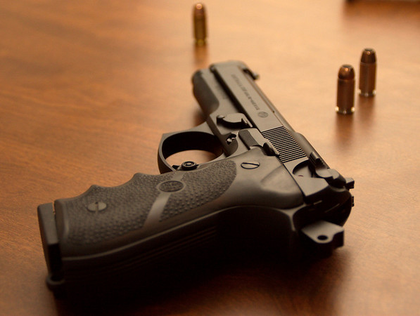 Well oiled civil rights.  Beretta 96fs (.40 S