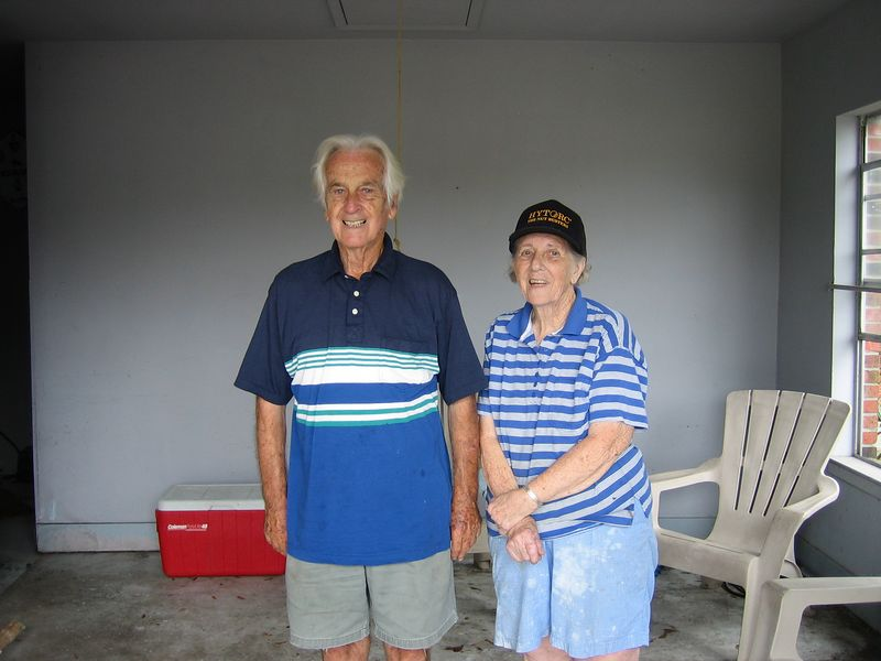 """This is what two of """"The Greatest Generation"""" look like."""