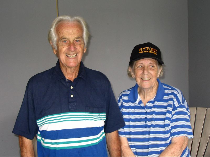 "Bob and Evelyn Noonan, from ""The Greatest Generation.""  Read about them here: <br /> <a href=""http://www.fumcwp.org/min-PascagoulaMissionTrip2.htm"">http://www.fumcwp.org/min-PascagoulaMissionTrip2.htm</a>  and scroll down to Friday, Sept. 23."