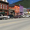 Funky and bright Silverton, CO... a great stop on any ride.