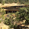 Ancient cliff dwellings in Mesa Verde National Park.