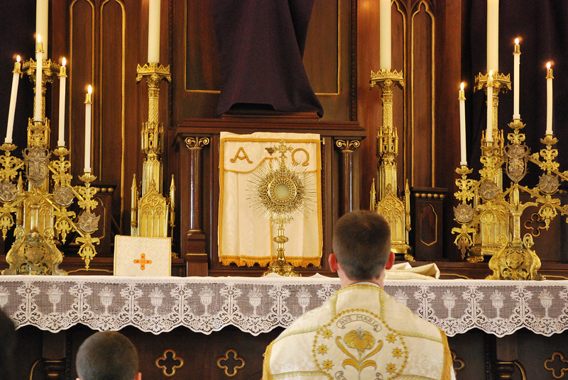 Tantum ergo Sacramentum...