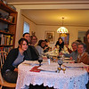 Left, front to rear<br /> Michelle, Larry, Jane, Ilana, Avi<br /> Right, front to rear<br /> Grant, Estelle, Janice