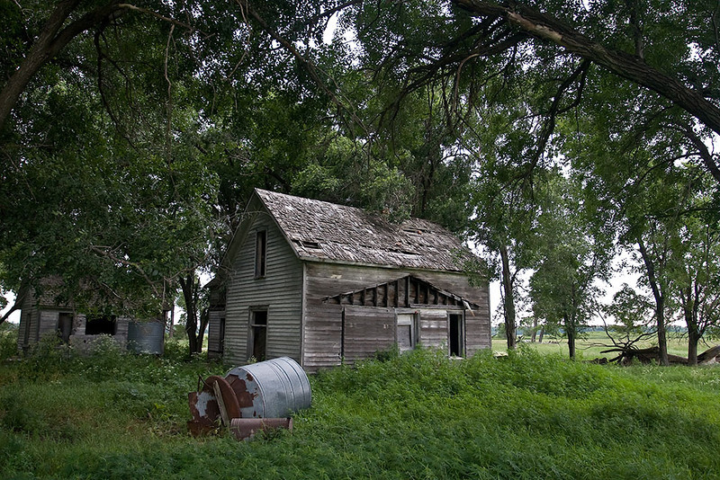 Passings – Abandoned Nebraska homestead <br /> ©2009 Peter Aldrich