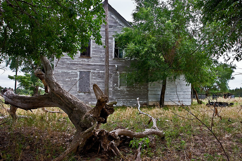 Passings – Abandoned Nebraska farmhouse <br /> ©2009 Peter Aldrich